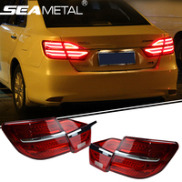 Newest Car Styling LED Rear Lights DRL Tail Light Rolling Turning Signal For Toyota Camry 2014