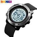 Спортивные Смарт-часы SKMEI с Bluetooth  мужские водонепроницаемые цифровые наручные часы с компасом  пульсометром  шагомером  калориями  мужские ...