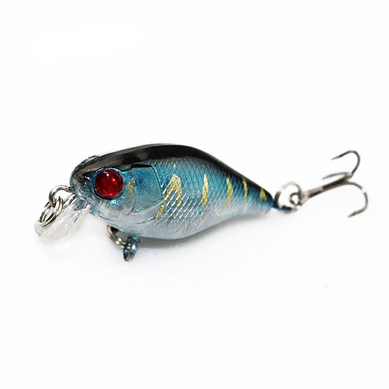 4cm 4.2g Flash Swim Fishing Lure Artificial Hard Crank Bait Wobblers Japan Mini Fishing Crankbait Lure Pesca