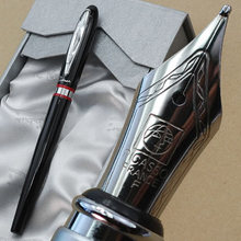 Picasso 907 black and silver B Nib Fountain Pens multicolour students select Free shipping