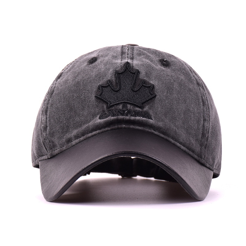 2017 New High Quality Baseball Cap Unisex Sports Leisure Hats Maple Leaves  Embroidery Sport Cap For Men and Women Hip Hop Hats. 5555f85ef330