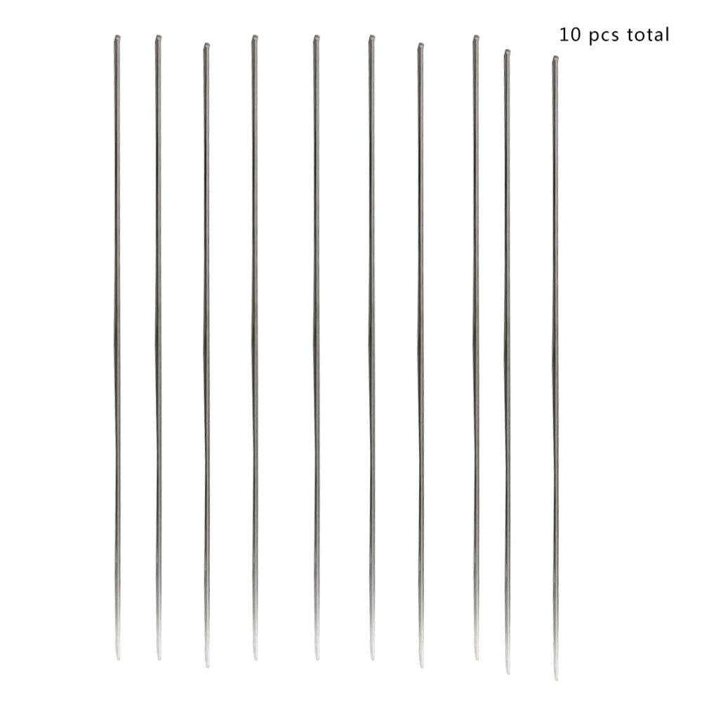 10pcs/set 1.6x330mm Metal Aluminum Magnesium Silver Electrode Welding Rod Flux Cored Wire Brazing Stick Soldering Tool