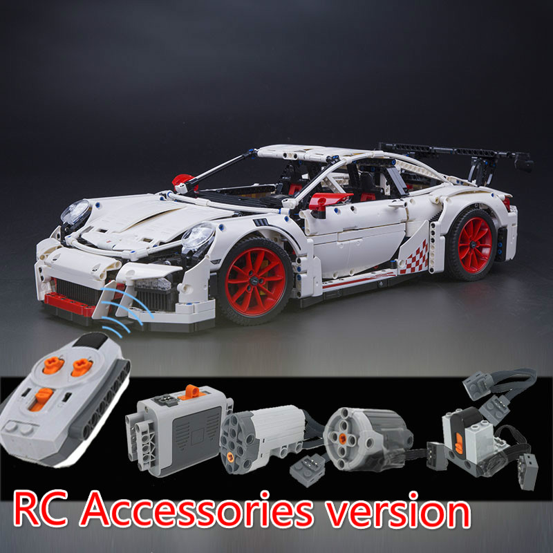 LEPIN 20001 3368 42056 Reassembling the remote control parts technology Series building  ...