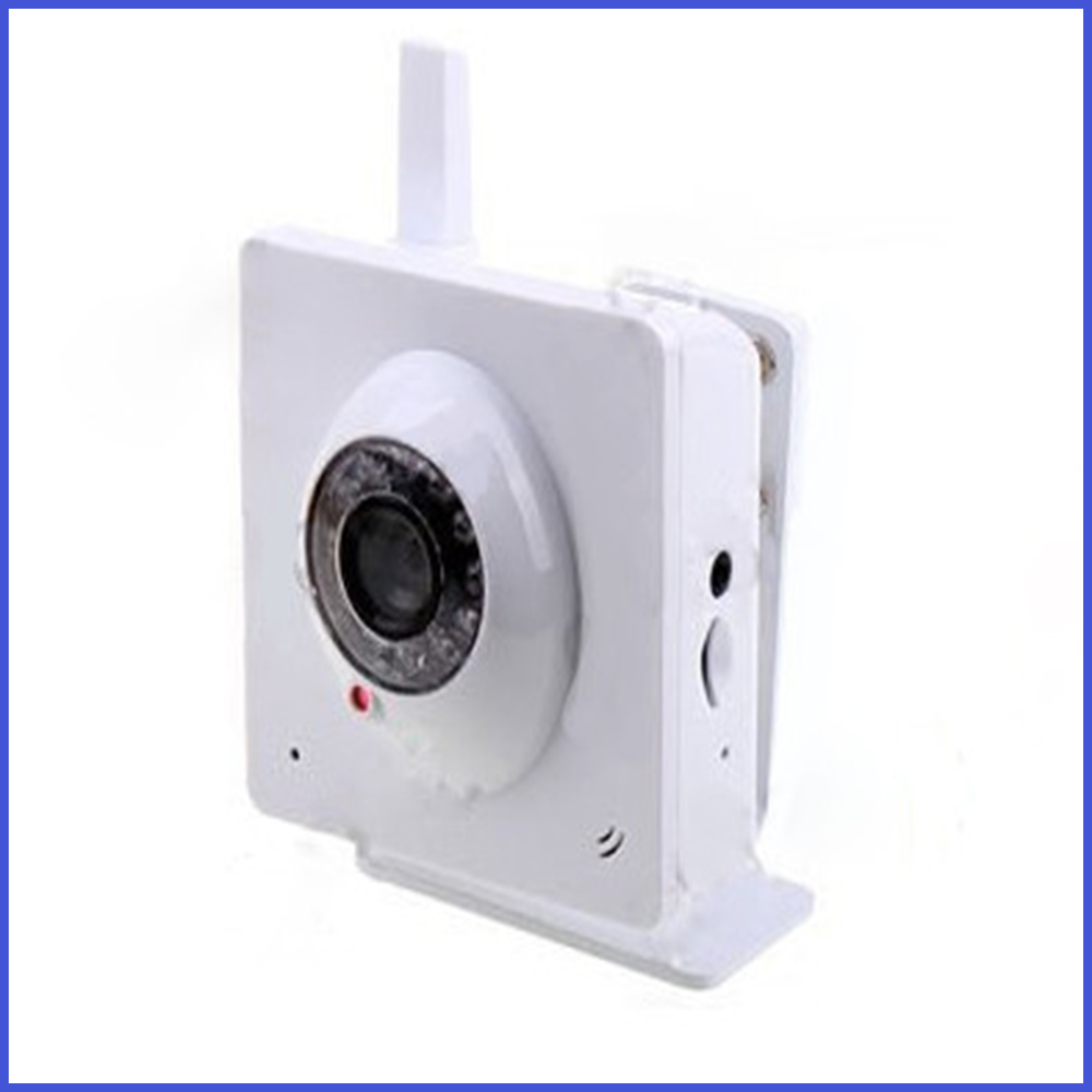 H.264 Wireless IP Camera with 300K Pixels CMOS