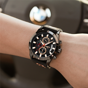 Image 5 - NIBOSI Relogio Masculino Men Watches Top Brand Luxury Unique Sport Watch Men Quartz Clock Waterproof Silicone Strap Montre Homme