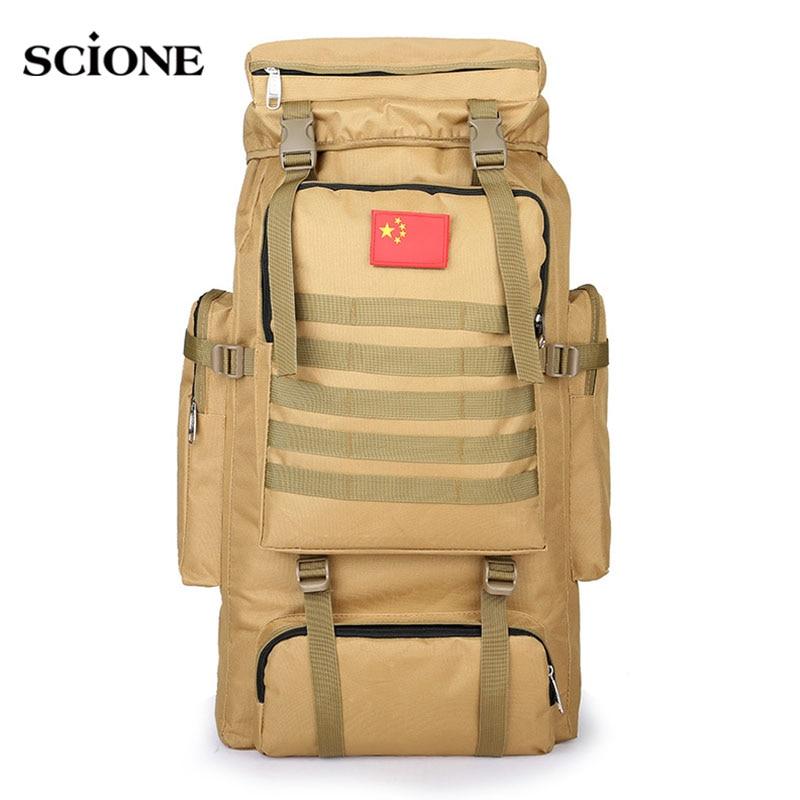 Mounchain Men Hiking Climbing Military Travel Waist Bag Outdoor Sports Cross Body Bags Chest Bag Climbing Bags Camping & Hiking