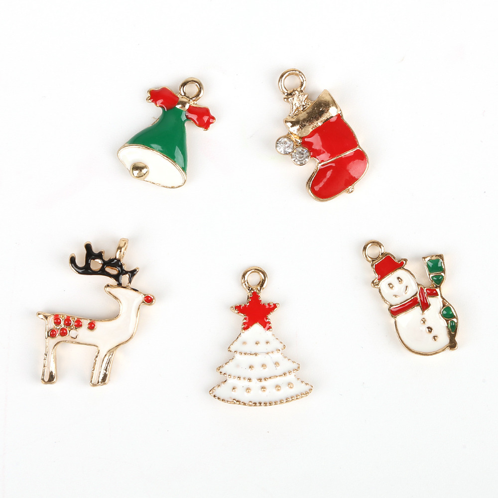 Home & Garden Wholesale Alloy Metal Santa Sleigh Charms Enamel Christmas Floating Locket Charms For Glass Locket Hot Sale 20pcs!