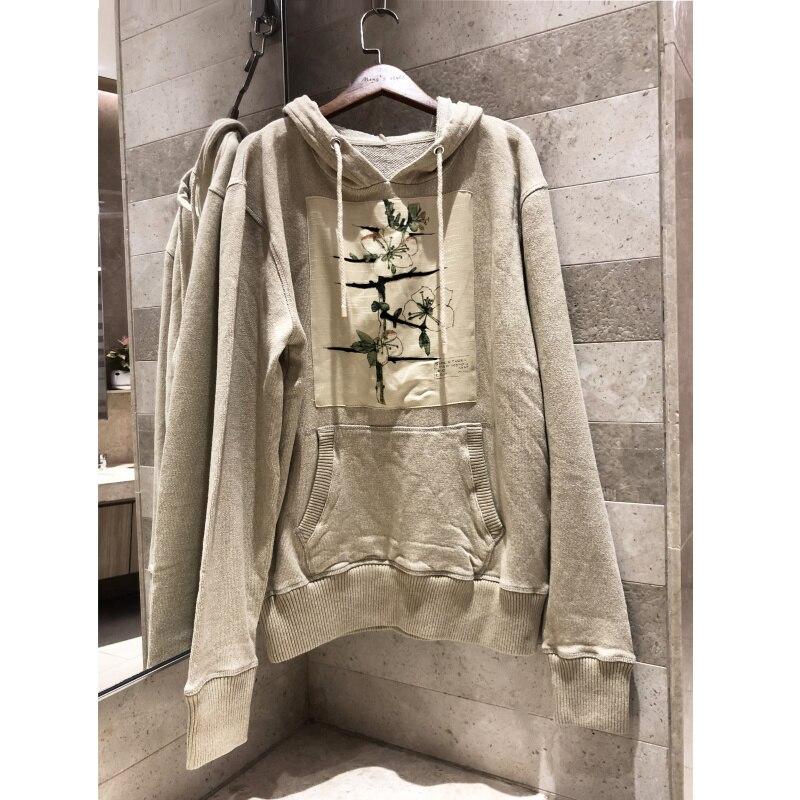 2019 herbst winter baumwolle gedruckt pullover lose männer frauen hoodie sweatshirt frauen casual straße kleidung-in Hoodies & Sweatshirts aus Damenbekleidung bei  Gruppe 1