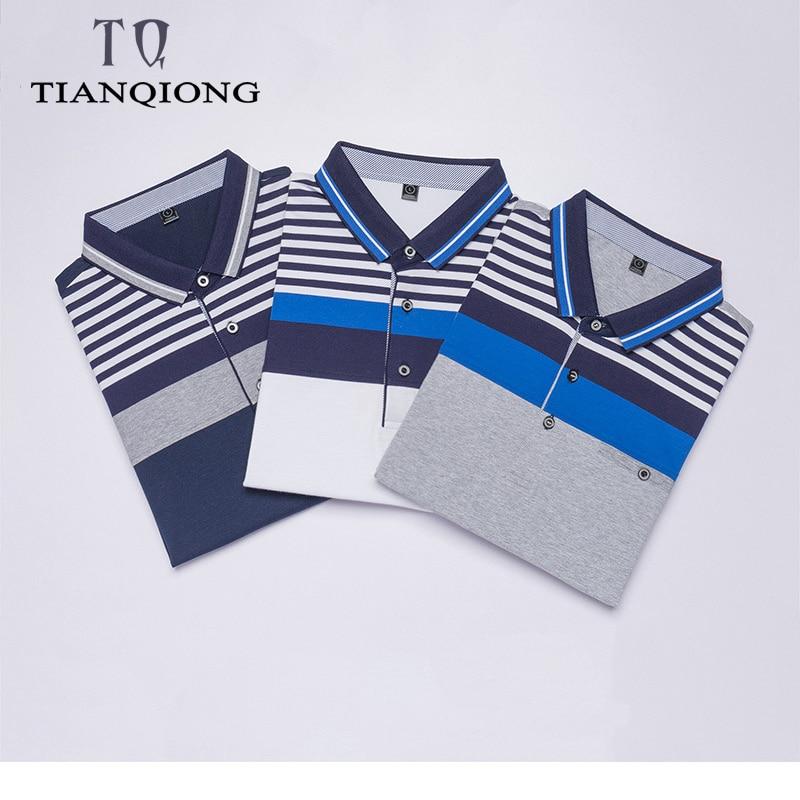 Erkek Kıyafeti'ten Polo'de 3 adet Tops & Tees erkek polo gömlekler Iş erkekler markalar polo gömlekler 3D nakış turn aşağı yaka erkek POLO GÖMLEK'da  Grup 1
