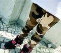 2-6Y 2 3 4 5 6 edad Nuevo venir al por menor 1 unids ropa de primavera Deportes pantalones niños otoño camuflaje pantalones BC00