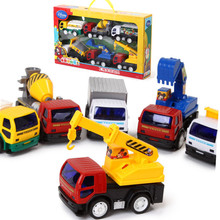 Disney Mickey Kids Toys Construction Vehicles Engineering Trucks Cars Toys for Boys Xmas Birthday Gifts Plastic ABS Licensed