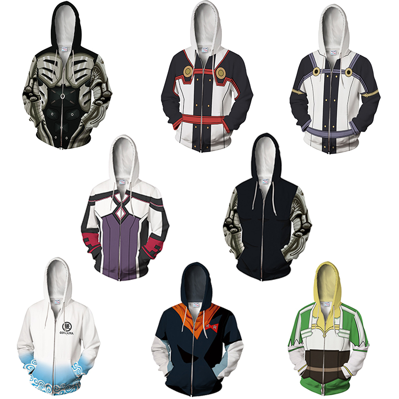 Autumn muscle zip hoodie One Punch Man power Hooded coat zipper outerwear Men Hoody Sweatshirt Plus Size 2018 New Pullover Tops