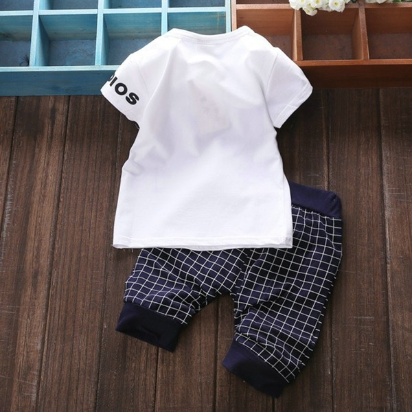 Baby Kids Boys Girls Clothing Sets 4 Colors Casual Style Stars Printing Clothes Kids Clothes 09