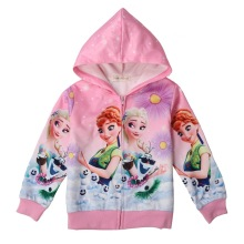 923505253 New Spring Girls Jackets And Coats Hooded Unicorn Rainbow Pattern Kids  Windbreaker Jackets Autumn Jackets For Girl Children Coat