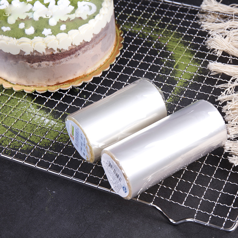 Plastic Band Transparent Clear Mousse Cake Dessert Surrounding Hard Bounded Decorative Sheet Cake Edges DIY Cake Tools in Cake Molds from Home Garden