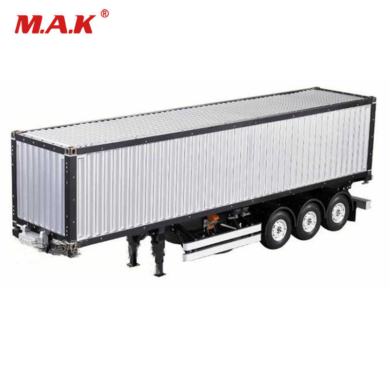 Voor RC Tamiya Scania R620 Actros Trailer 1/14 Schaal 20FT 40FT Aluminium Frame Container trailer frame Kit