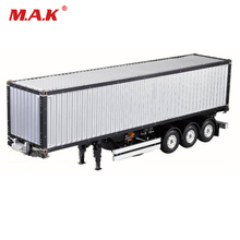 цена на For RC Tamiya Scania R620 Actros Trailer 1/14 Scale 20FT 40FT Aluminium Frame Container trailer frame Kit