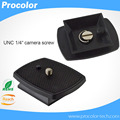 O Envio gratuito de Placa de Liberação Rápida para Velbon CX-888 Tripé Monopods Universal 444 460 470 570 690 para Yunteng Quick Sapato