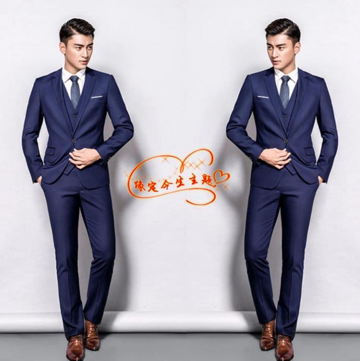 Blazer men formal dress latest coat pant designs suit men square ...