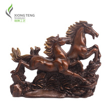 sales Genuine Pure New arrival copper horse decoration technology ministering home accessories office desk horse decoration