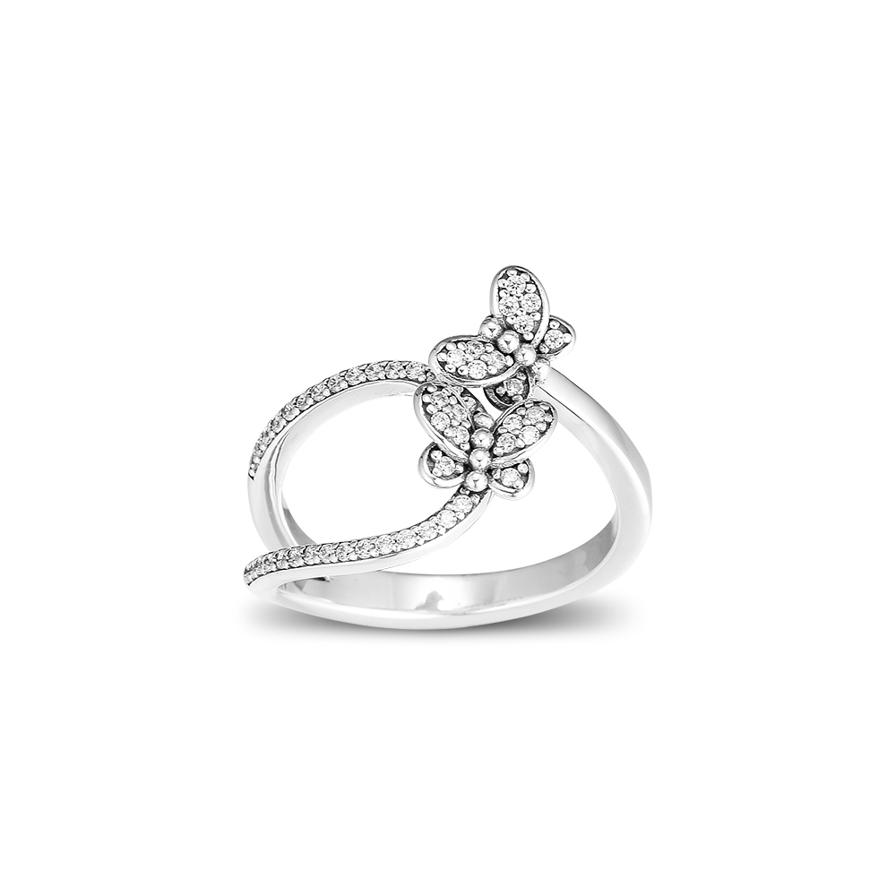 925 Sterling Silver Rings Bedazzling Butterflies Ring Fashion Rings for Women anillos plata 925 para mujer pierscionki925 Sterling Silver Rings Bedazzling Butterflies Ring Fashion Rings for Women anillos plata 925 para mujer pierscionki