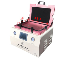 TBK-308A 15 Inch LCD Touch Screen Automatic Bubble Removing Machine OCA Vacuum Laminating Machine With Automatic lock Gas все цены