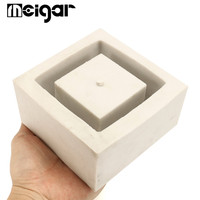 Geometrics Flower Pot Silicone Mold DIY Garden Planter Concrete Vase Mould Tools Succulent Bonsai Garden Decoration Supplies