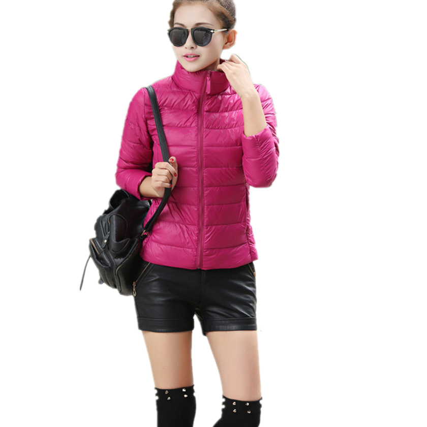 Fashion Winter Women Down Jacket Long Sleeve with Gray Duck Down Filling Long and thin Coat Outwear hooded S-3XL Size C76006M down jacket women 2017 korean long sleeve ladies down jackets larger medium long down women s winter jacket with a hood e0646