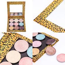 NEW Fashion High Quality Empty Magnetic Makeup Palette Pad Palette Eyeshadow Pad Leopard Large Pattern DIY