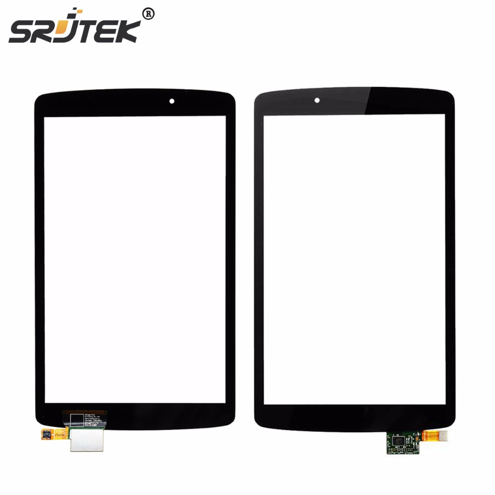 Srjtek 8 For LG G Pad F 8.0 V495 V496 Touch Screen Digitizer Panel Sensor Glass Tablet PC Replacement matte pet screen protector for lg nexus5 transparent