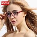 NOSSA Nova Marca Armação de óculos Armações de Óculos de Moda Elegante Qualidade do Metal Óptico Óculos Claros