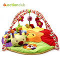 2016 Educational Baby Toy Baby Play Mat Plush Game Tapete 0-1 Year Tapete Infantil Crawling Mat Music Play Gym Blanket Carpet