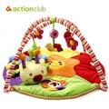 2016 brinquedos educacionais do bebê jogo do bebê Tapete Infantil Tapete de jogo Tapete 0 - 1 ano rastejando Mat jogo de música cobertor ginásio Tapete