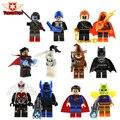 Новый 2 Шт./лот Мстители Ghost Rider Hobgoblin Бэтмен Пугало Келлер DC Super Heroes Строительные Блоки мини Подарочные Детские Игрушки