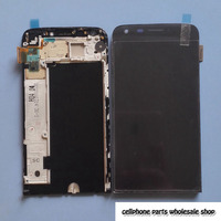 5 3 Lcd Display Digitizer Touch Glass Frame Assembly For Lg G5 H850 H840 H830 Pantalla