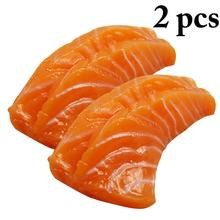 Simulation-Sushi Food-Model Decor Photography-Props Artificial-Food Fake Realistic 2pcs