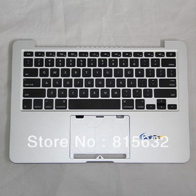 3gab / lot JAUNUMS MacBook Pro 13 RETINA A1425 TOP CASE PALMRETS US KEYBOARD, VAIRUMTIRDZNIECĪBA!