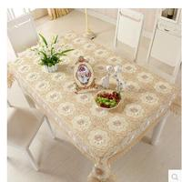 PASAYIONE Handmade Lace Table Cloth Hollowed Out Flower Pattern Table Cover Protector Home Textile Toalha De