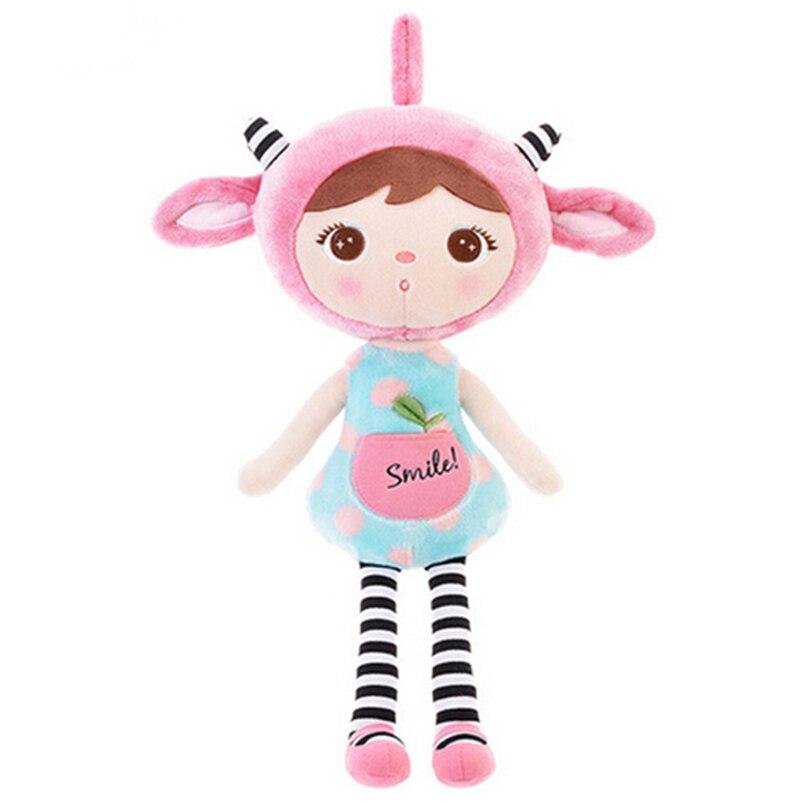 1pcs New Arrival 45cm Plush Metoo Doll Cartoon Stuffed Animals Kids Plush Toys Soft Dolls For Girl Birthday Christmas Gifts A9