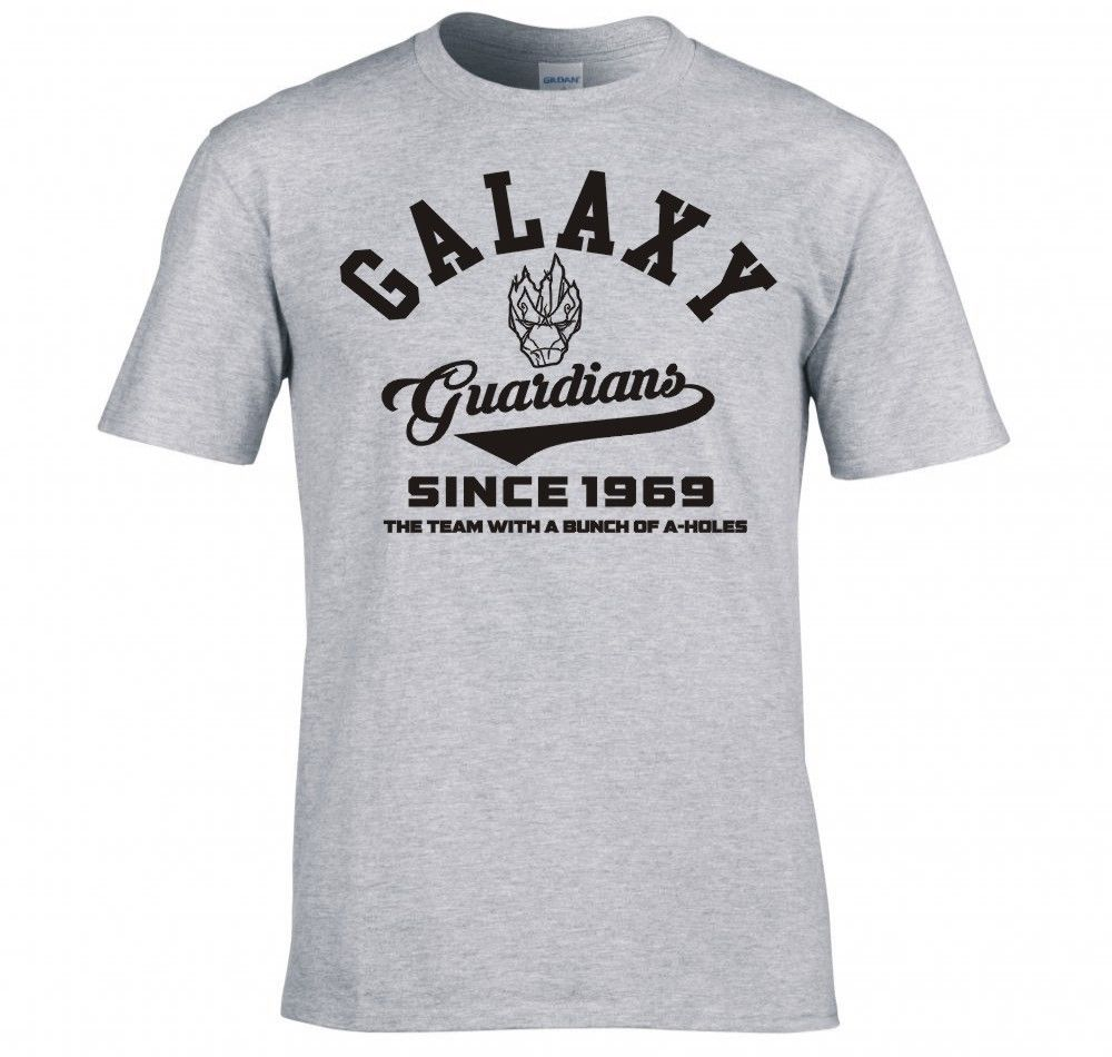 2017 New Fashion O Neck Slim Fit Tops Guardians Of The Galaxy Casual Mens Streetwear Short Sleeve T Shirts