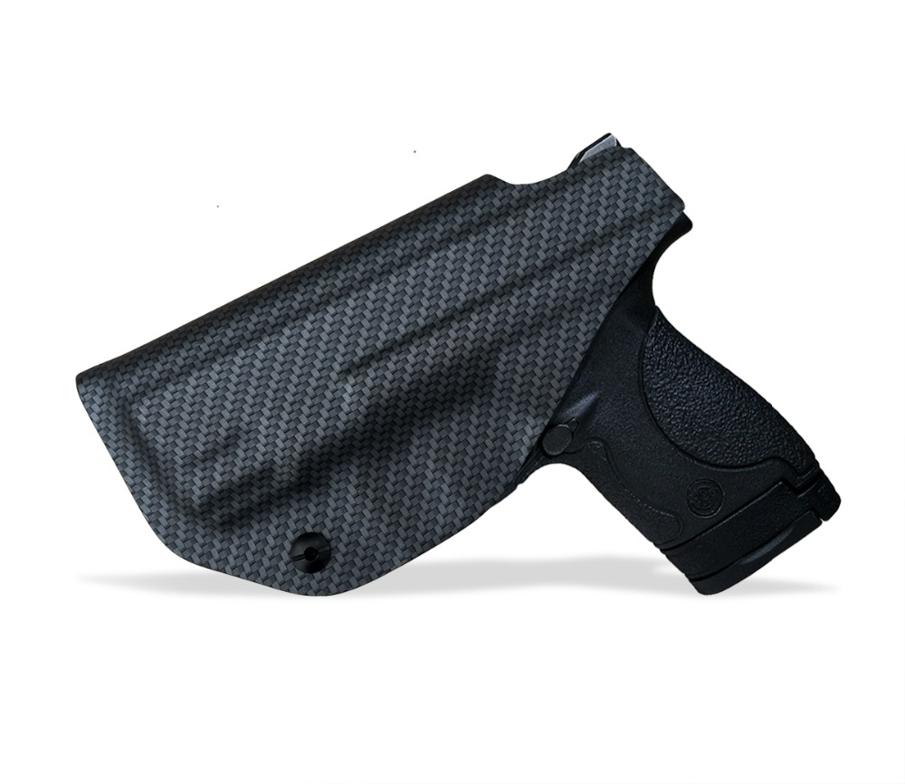 IWB OWB Carbon Fiber KYDEX Holster Fits M P Shield 9MM 40 s w Gun Holsters