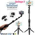 "Disparador remoto bluetooth extensible original yunteng selfie stick 50 ""monopod para samsung c5 nota 7/para sony z3 z5 xp cámara slr"