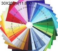 Hot Sale Wholesales 1mm Thickness Felt Fabric Polyester Felt Non Woven DIY Fabric 30X30cm 11 8