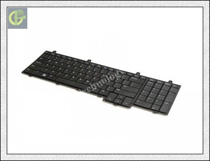 New Keyboard for  Dell Inspiron 1747 1750  laptop keyboard US version new keyboard for dell studio 1745 us version black laptop keyboard with backlight free shipping