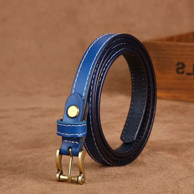 COWATHER Hot Sale good quality women belt cow genuine leather