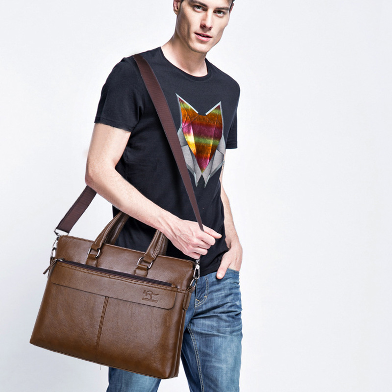 Brand Larger Capacity Men 39 s Handbag 15 quot Laptop Briefcases Messenger Bags Men Tote Shoulder Bag Man Sac Bolsa Business Purse