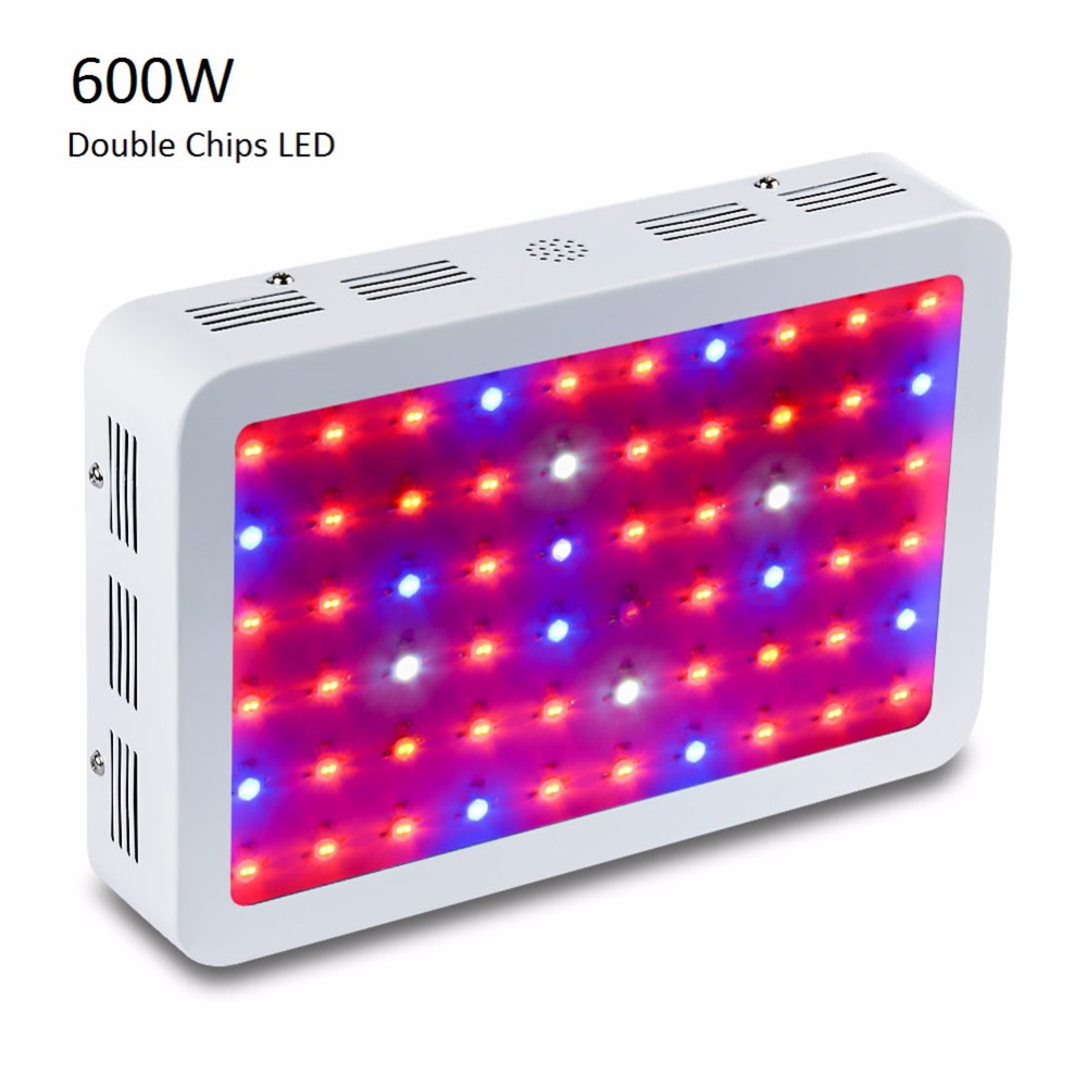 Full Spectrum Led Plant Grow Lamps Double 5W Epistar LED Chip Horticulture Grow Light for Garden Flowering Hydroponics System 2pcs 30mil 10w 660nm plant grow lights led chip dc6 7v 1000ma excellent quality light source for plant grow faster and batter