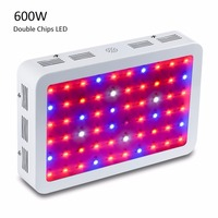 Full Spectrum Led Plant Grow Lamps Double 5W Epistar LED Chip Horticulture Grow Light For Garden