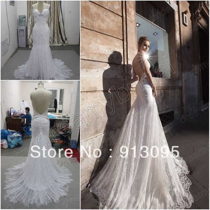 dreamybridal Actual image Vintage Lace Inbal dror wedding dress in ...