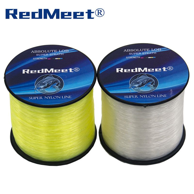RedMeet Brand 1.0#-8.0# 1000M 4.4-28.6LB Monofilament Line Nylon Fishing Lines For Carp Fishing Accessories Pesca Super Strong